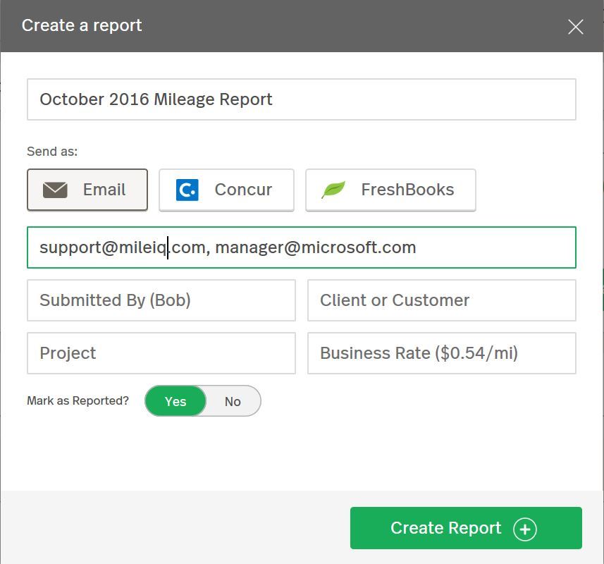 How to Request a Monthly Report MileIQ – Business Monthly Report